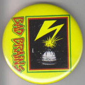 BAD BRAINS - THUNDER BUTTON PIN / BOTTLE OPENER / KEY CHAIN