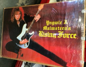 YNGWIE MALMSTEEN - RISING FORCE ORIGINAL POSTER