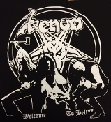 VENOM - WELCOME O HELL BACK PATCH
