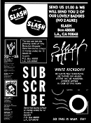 BOOK - SLASH A PUNK MAGAZINE FROM LOS ANGELES