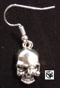EARRING - SKULL WITHOUT JAW