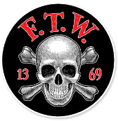 WOVEN PATCH - F.T.W