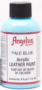 PALE BLUE ACRYLIC LEATHER PAINT