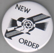 NEW ORDER - EVERYTHING'S GONE GREEN BUTTON / BOTTLE OPENER /