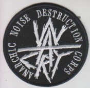 WARCRY - ANARCHY NOISE DESTRUCTION CORPS PATCH