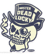 VINCE RAY STICKER - MR DEAD LUCKY STICKER