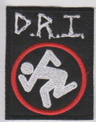 D.R.I - D.R.I WITH LOGO PATCH