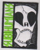 SUBHUMANS - SKULL W/ MICROPHONE PATCH