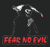 EMBROIDERED PATCH - FEAR NO EVIL