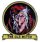 ENAMEL PIN BADGE - TALES FROM THE CRYPT THE OLD WITCH