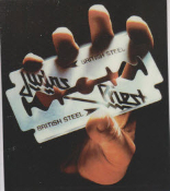 JUDAS PRIEST - BRITISH STEEL STICKER
