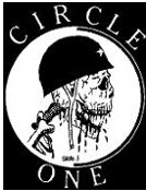 CIRCLE ONE - SKULL WITH HELMET PATCH