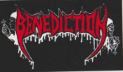 BENEDICTION - BENEDICTION STICKER