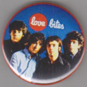 BUZZCOCKS - LOVE BITES BUTTON / BOTTLE OPENER / KEY CHAIN