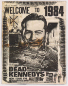 DEAD KENNEDYS - WELCOME TO 1984 CANVAS ART