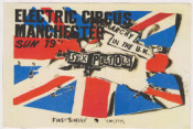 SEX PISTOLS - ANARCHY IN THE UK CANVAS ART