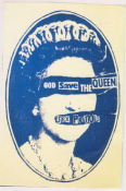 SEX PISTOLS - GOD SAVE THE QUEEN CANVAS ART
