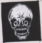 "PATCH - MARC VACHON ""SKULL #1"" PATCH"