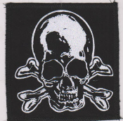 "PATCH - MARC VACHON ""SKULL WITH CROSSBONES"" PATCH"