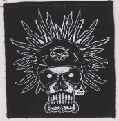 "PATCH - MARC VACHON ""SKULL WITH BANDANA"" PATCH"