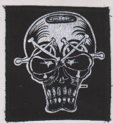 "PATCH - MARC VACHON ""SKULL #2"" PATCH"