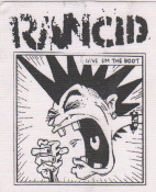 RANCID - GIVE EM THE BOOT PATCH