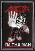 ANTHRAX - IM THE MAN PATCH