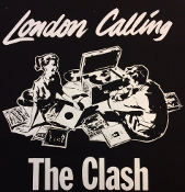 CLASH - LONDON CALLING BACK PATCH
