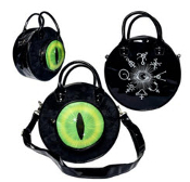 BAG - EYEBALL BAG BLACK CAT