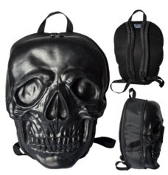 BACKPACK - GIANT SKULL BLACK