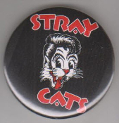 STRAY CATS - STRAY CATS W/ LOGO BUTTON / BOTTLE OPENER / KEY