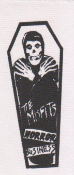 MISFITS - HORROR BUSINESS (COFFIN) PATCH