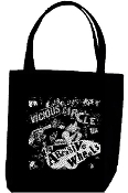 ABRASIVE WHEELS - VICIOUS CIRCLE TOTE BAG
