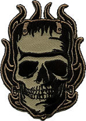 EMBROIDERED PATCH - KRUSE FRANKENSKULL