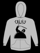CRISIS - COP HOODED SWEATSHIRT