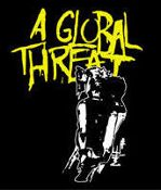 A GLOBAL THREAT - SPRAY PAINT BACK PATCH