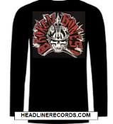 BROKEN BONES - LOGO LONG SLEEVE TEE SHIRT