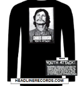 CHARLES BRONSON - YOUTH ATTACK LONG SLEEVE TEE SHIRT