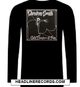 CHRISTIAN DEATH - THEATRE OF PAIN LONG SLEEVE TEE SHIRT