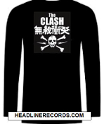 CLASH - JAPANESE LONG SLEEVE TEE SHIRT