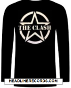 CLASH - STAR LONG SLEEVE TEE SHIRT
