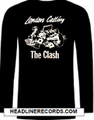 CLASH - LONDON CALLING LONG SLEEVE TEE SHIRT