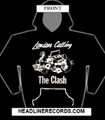 CLASH - LONDON CALLING HOODED SWEATSHIRT