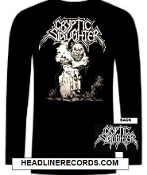 CRYPTIC SLAUGHTER - RIP LONG SLEEVE TEE SHIRT