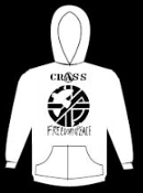 CRASS - FREEDOM & PEACE HOODED SWEATSHIRT