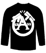 CRASS - BROKEN GUN LONG SLEEVE TEE SHIRT