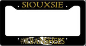 SIOUXSIE & THE BANSHEES - EYE LICENSE PLATE
