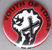 YOUTH OF TODAY - FIST BUTTON / BOTTLE OPENER / KEY CHAIN / MAGNE