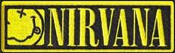 NIRVANA - NIRVANA W/ LOGO EMBROIDERED PATCH