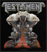 TESTAMENT - BROTHERHOOD OF THE SNAKE EMBROIDERED PATCH